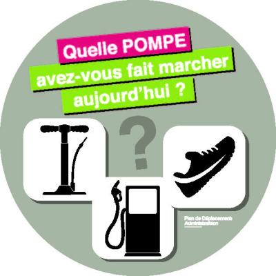 sticker POMPE